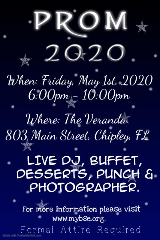 Prom 2020 Calendar Event